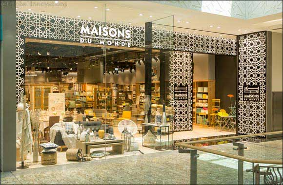 majid al futtaim fashion announces new franchise partnership with interiors brand maisons du monde. Black Bedroom Furniture Sets. Home Design Ideas