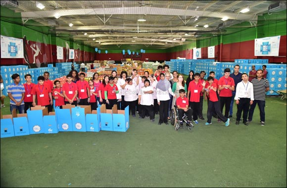 57 Young People of Determination Became du Volunteers to Mark