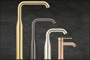 Poise and beauty for the basin: GROHE adds new touchless faucets to its Essence and Eurocube lines