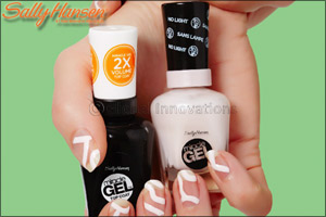 SALLY HANSEN Nail Trend Report FREE FORM & NEGATIVE SPACE
