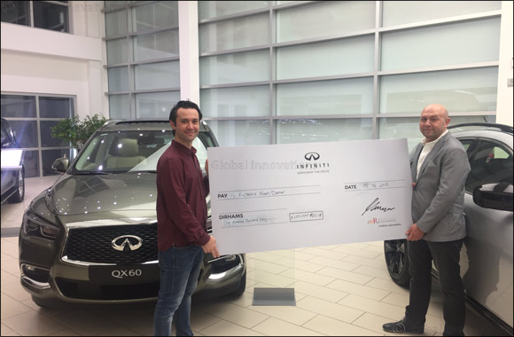 Arabian Automobiles Company Announces the First Lucky Winner of INFINITI's Ramadan Campaign