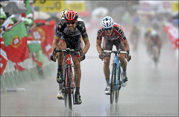 Podium Finish for UAE Team Emirates' Sacha Modolo on Stage Eight of Tour de Suisse