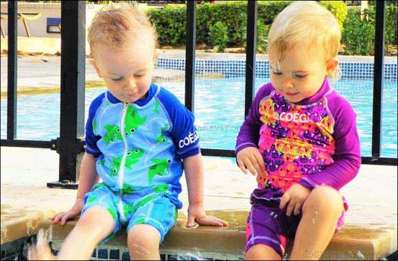 Take A Sneak-peek into COÉGA Sunwear's 2018 Baby Swimwear Line