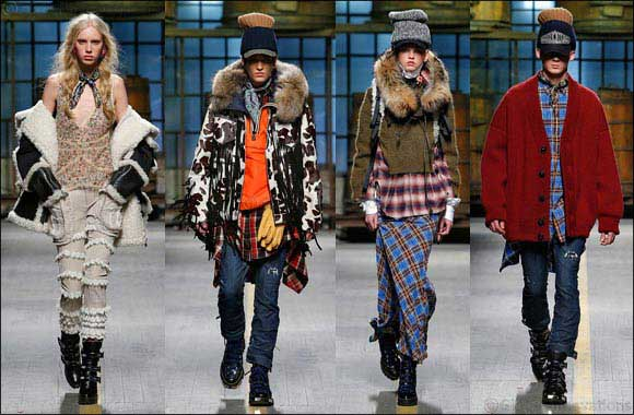 Dsquared2 Men's and Women's Fall Winter 2017 Show
