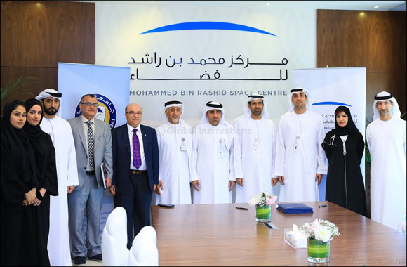 Memorandum of Understanding Signed Between Mohammed Bin Rashid Space Centre has Signed a with University of Dubai
