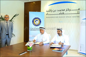 Memorandum of Understanding Signed Between Mohammed Bin Rashid Space Centre has Signed a with Univer ...