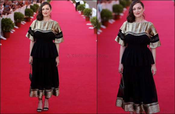 Marion Cotillard wears Chloé  to 31st Cabourg Film Festival