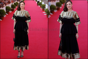 Marion Cotillard wears Chlo�  to 31st Cabourg Film Festival