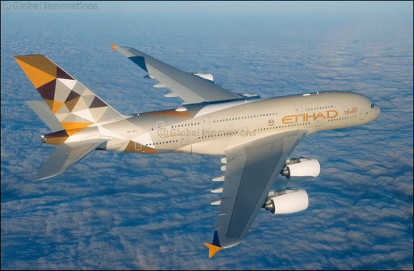 Etihad Airways Aircraft Operations Rated as One of the Cleanest and Quietest by Heathrow Airport