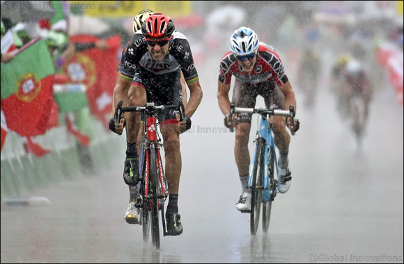 Top Five for UAE Team Emirates' Rui Costa in the Overall General Classification at Tour de Suisse