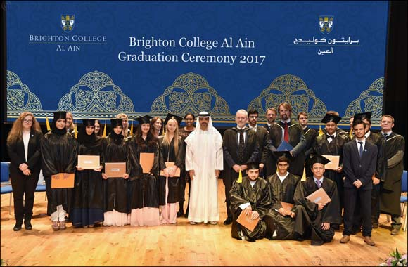 His Highness Sheikh Hamed bin Zayed Al Nahyan Attends First Graduation Ceremony of Brighton College Al Ain
