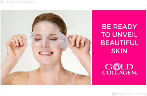 Gold Collagen® Hydrogel Mask with Second Skin Technology to Launch in Dubai in July 2017  From the Pioneers of Liquid Beauty Supplements