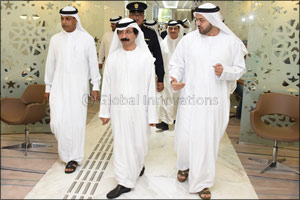 Bin Sulayem inaugurates the new 7-star Port Rashid Customs Center
