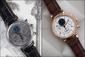 Rendezvous Between Moon and Chronograph Da Vinci Perpetual Calendar Chronograph
