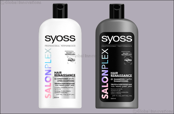 SYOSS SALONPLEX - Ultimate repair: the professional hair care innovation for at home