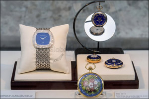 Longines officially launched the blue model of The Longines Master Collection on the eve of Prix de  ...