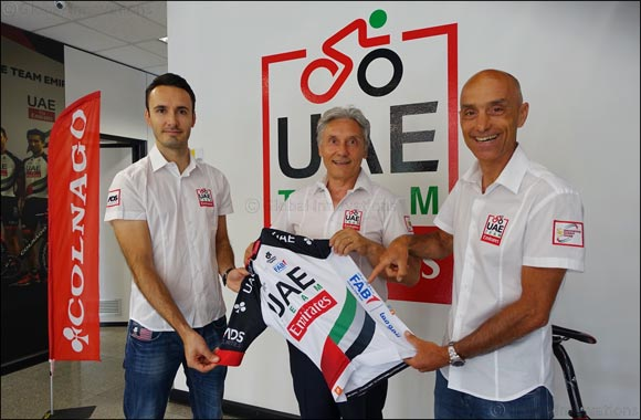 First Abu Dhabi Bank Announced as the New Partner of UAE Team Emirates Professional Cycling Team