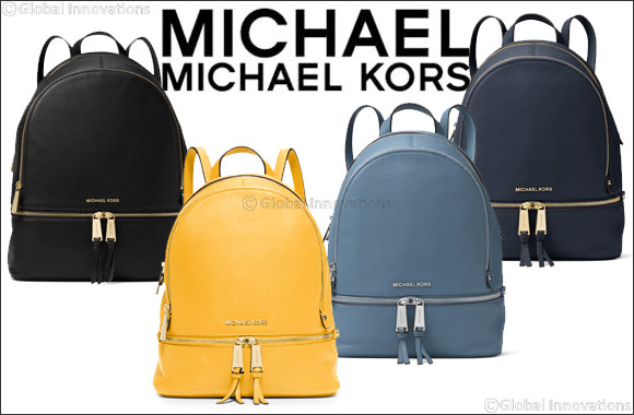 MICHAEL Michael Kors introduces the RHEA backpack