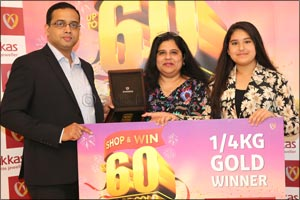 Joyalukkas presents � Kilo Gold to the Winners of the ongoing �Joyalukkas Shop & Win Upto 60 Kg Gold ...
