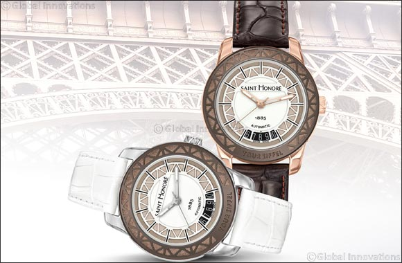 SAINT HONORÉ  Eiffel Tower Lady timepiece – A piece of history on your wrist