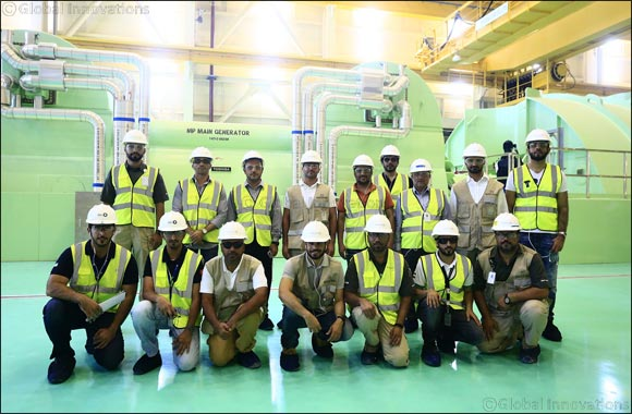ADWEA Leadership Witnesses Progress of UAE's Peaceful Nuclear Energy Program