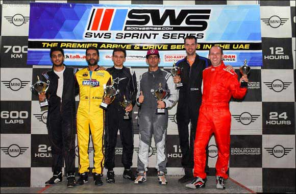 SWS Senior Cup Victory for Romaldo Labrooy at Dubai Kartdrome