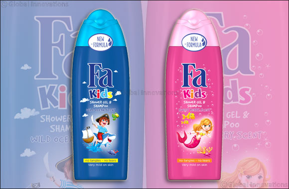 Fa Kids Shower Gel Range
