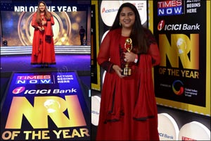 NRI Teenager awarded India's Most Distinctive Global Indians Award