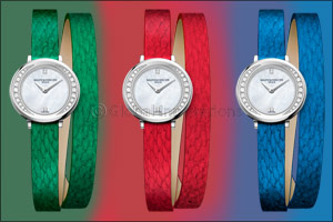 BAUME & MERCIER: A leather with a promising future for Petite Promesse