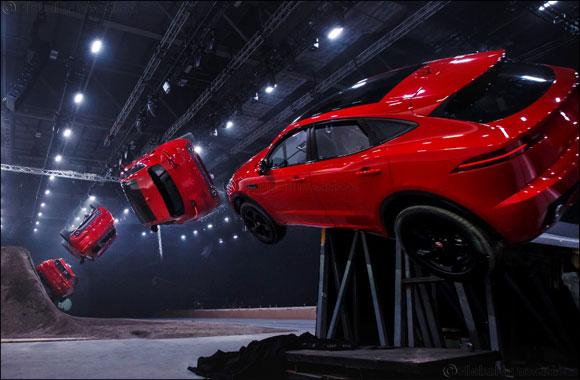 New Jaguar E-PACE rolls into the record books