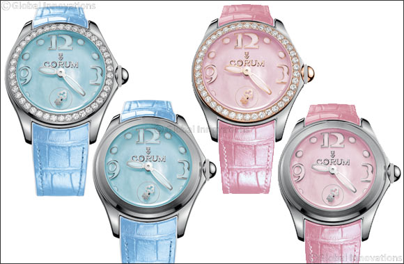 Bubble lines in mother-of-pearl and superluminova add sparkle to summer