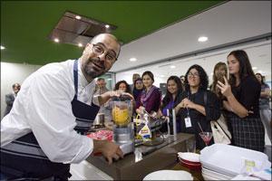 Chef Tarek Turns on a Cooking Masterclass in Dubai Using Fresh Australian Produce