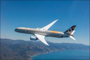 Etihad Airways Introduces Next-Generation Boeing 787 Between Abu Dhabi and Beirut