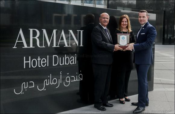 Armani Hotel Dubai Awarded First Green Globe Certification