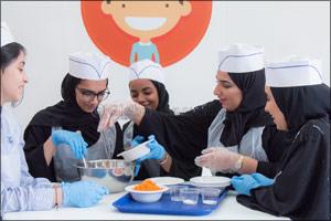 Sajaya Young Ladies of Sharjah Organises Art, Health and Sports Workshops