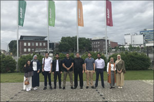 Young Future Energy Leaders Group Visits BASF Headquarters in Germany