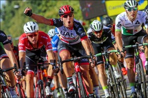 Modolo Sprint Lands First Place on Stage Two at Tour of Pologne