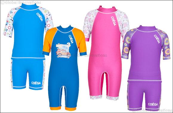 COÉGA Sunwear: Keeping Energetic Young Swimmers Sun-safe
