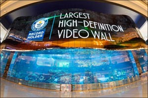 Emaar Entertainment launches record-breaking addition, with 820 panel, flexible OLED screen