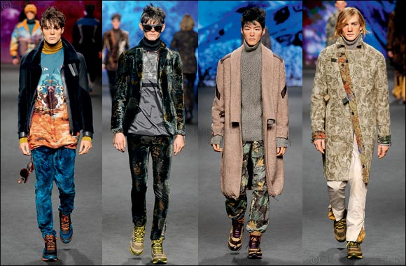 ETRO's Menswear Collection Autumn Winter 2017/18