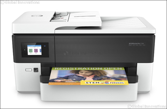 HP's Next Generation OfficeJet Pro Enables Micro Businesses to Print Like a Pro