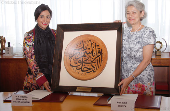 Bodour Al Qasimi Signs MoU with UNESCO to Enhance Cultural Cooperation