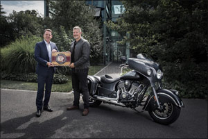 Baume & Mercier and Indian Motorcycle Announce Partnership