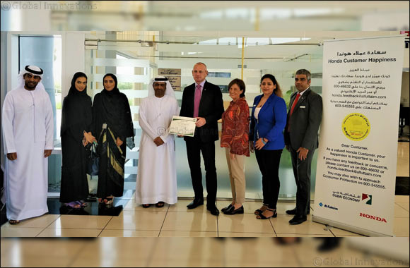 Al-Futtaim Honda launches Consumer Happiness Counter initiative