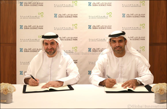 Dubai Science Park and Al Jalila Foundation sign MoU to support scientific research and young innovators