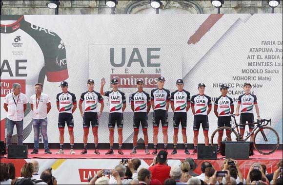 UAE Team Emirates makes Vuelta a España Debut