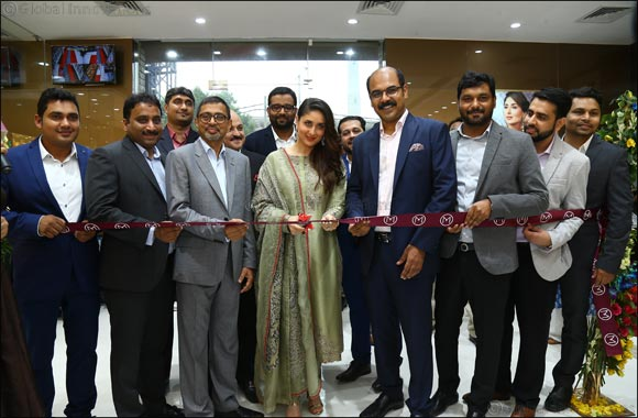 Malabar Gold & Diamonds launched its 179th showroom in Pitampura, Delhi, India strengthening its presence in the region