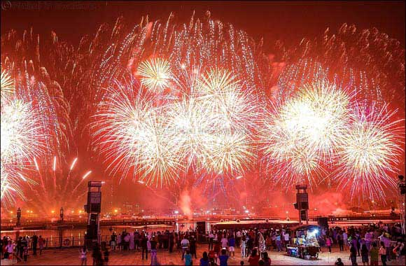 Twice the Magical Fireworks at Dubai Festival City on the first day of Eid