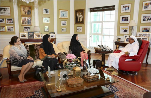 Her Excellency Reem Al-Hashimi Discusses Expo 2020 Progress with Khalaf Ahmad Al Habtoor