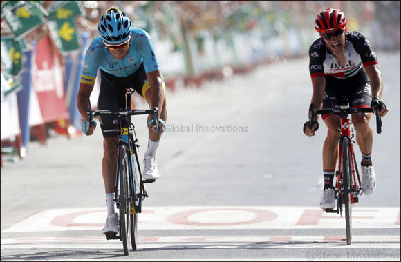 Second for UAE Team Emirates' Polanc in Dramatic Stage Eight